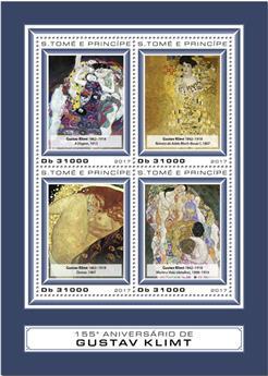 n° 5849/5852 - Timbre SAINT-THOMAS ET PRINCE Poste