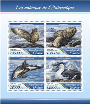 n° 8936/8939 - Timbre GUINÉE Poste