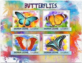 n° 6809/6812 - Timbre SIERRA LEONE Poste
