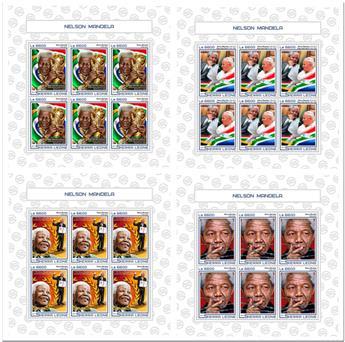 n° 6949/6952 - Timbre SIERRA LEONE Poste