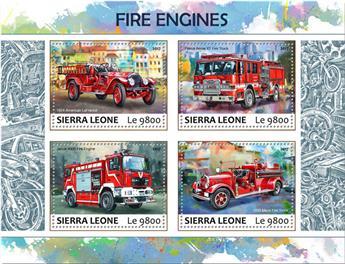 n° 7093/7096 - Timbre SIERRA LEONE Poste