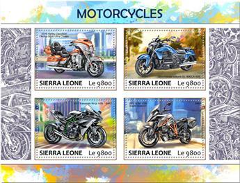 n° 7153/7156 - Timbre SIERRA LEONE Poste