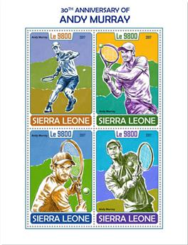 n° 7333/7336 - Timbre SIERRA LEONE Poste