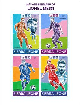n° 7373/7376 - Timbre SIERRA LEONE Poste