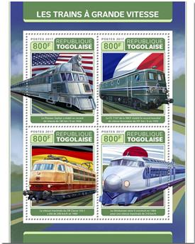 n° 5698/5701 - Timbre TOGO  Poste