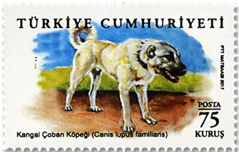n° 3857/3860 - Timbre TURQUIE Poste