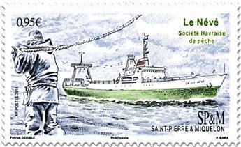 n° 1199 - Timbre Saint-Pierre et Miquelon Poste