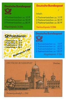 Allemagne (RFA) : 18 carnets ** entre 1976 et 1996