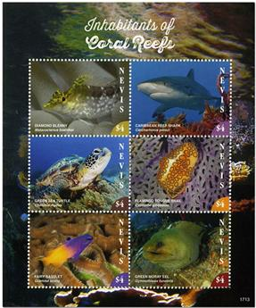n° 2684/2689 - Timbre NEVIS Poste
