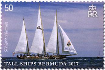 n° 1135/1138 - Timbre BERMUDES Poste