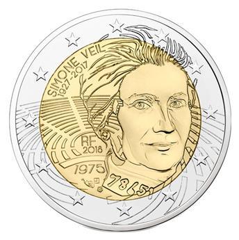 2 EUROS COMEMORATIVAS 2012 : FRANÇA - ABBE PIERRE
