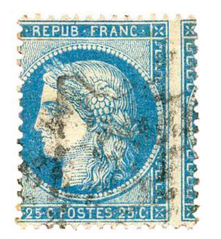 n°60A obl. TB - Timbre FRANCE Poste