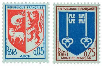 n°1468b, 1469a** - Timbre FRANCE Poste
