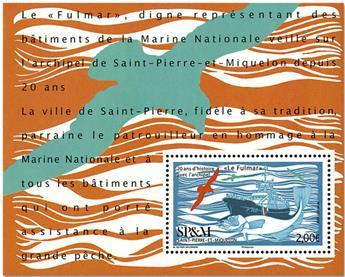 n° F1203 - Timbre Saint-Pierre et Miquelon Poste