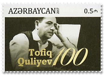 n° 978 - Timbre AZERBAIDJAN Poste