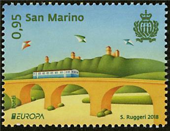 n° 2530/2531 - Timbre SAINT-MARIN Poste (EUROPA)