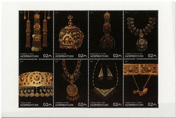 n° 1011/1018 - Timbre AZERBAIDJAN Poste