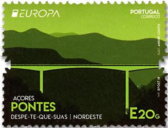 n° 620 - Timbre ACORES Poste (EUROPA)