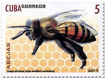 n° 5544/5549 - Timbre CUBA Poste