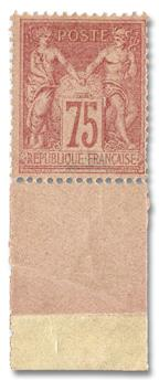 n°81* - Timbre FRANCE Poste