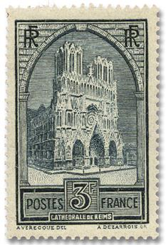 n°259b** - Timbre FRANCE Poste