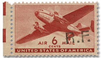 n° 18** - Timbre France Poste Aérienne Militaire (surcharge Casablanca)