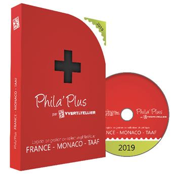 PHILA´PLUS Évolutif 2019 FRANCE (PC+MAC)