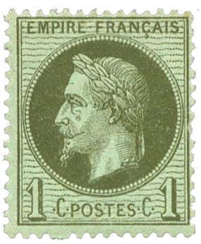 n°25* - Timbre FRANCE Poste