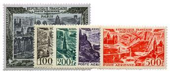 n°24/27 + 29* - Timbre FRANCE Poste Aérienne