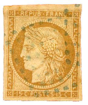 n°22 obl. - Timbre COLONIES FRANCAISES Poste