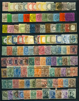 Italie : Collection 1860/1980 **/*/obl.