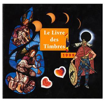 LE LIVRE DES TIMBRE DE L´ANNEE 1999