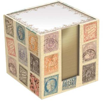 Bloc mémo cube Stamps