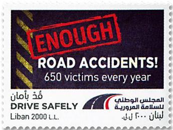 n° 593 - Timbre LIBAN Poste