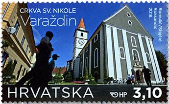 n° 1222/1223 - Timbre CROATIE Poste