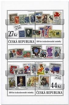 n° 67 - Timbre TCHEQUE (République) Blocs et feuillets
