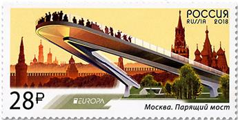n° 7907 - Timbre RUSSIE Poste