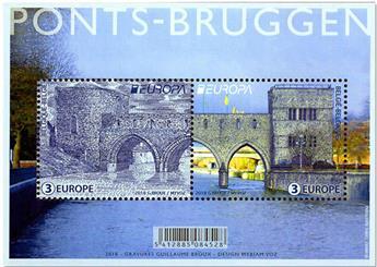n° 4755/4756 - Timbre BELGIQUE Poste (EUROPA)