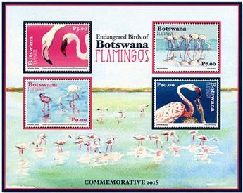 n° 56 - Timbre BOTSWANA Blocs et feuillets