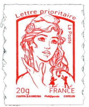 n° 858a - Timbre France Autoadhésifs