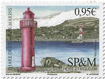 n° 1210 - Timbre Saint-Pierre et Miquelon Poste