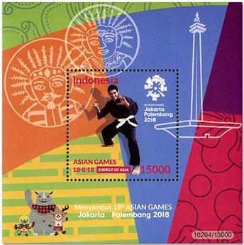 n° 335/336 - Timbre INDONESIE Blocs et feuillets