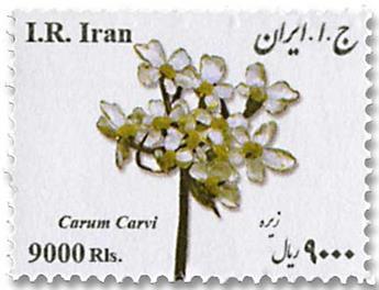 n° 3075 - Timbre IRAN Poste