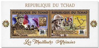 n° 1786AN/1786AP - Timbre TCHAD Poste