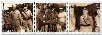n° 1916/1918 - Timbre MALTE Poste