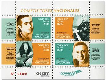 n° 990/993 - Timbre COSTA RICA Poste