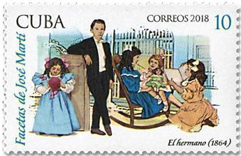 n° 5657/5662 - Timbre CUBA Poste