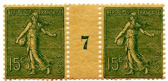 n°130c* - Timbre FRANCE Poste