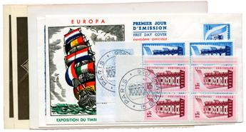 n°1076/1077 - Timbre FRANCE Poste