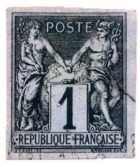n°37 obl. - Timbre COLONIES FRANCAISES Poste